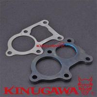 Kinugawa Turbo Turbine Outlet Flange & Gasket Kit for Mitsubishi 4D34 6D31 6M60T Downpipe Elbow