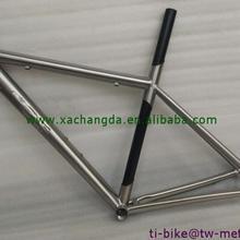 Титановая углеродная смешанная рама для шоссейного велосипеда, xacd титановая рама для велосипеда с карбоновой трубой, дешевая титановая Смешанная углеродная рама
