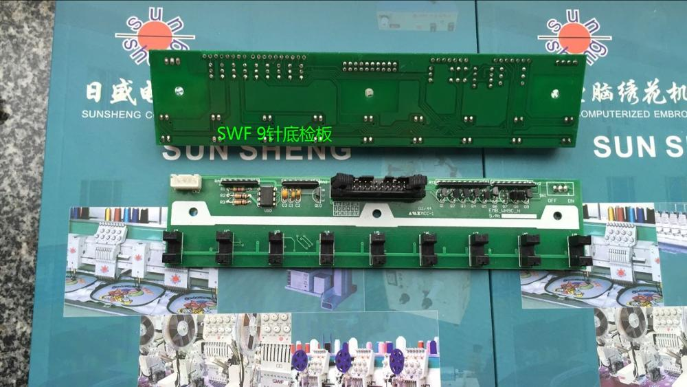 Computer embroidery machine parts South Korea SWF extension of 9 needle roller electronic board broken circuit board