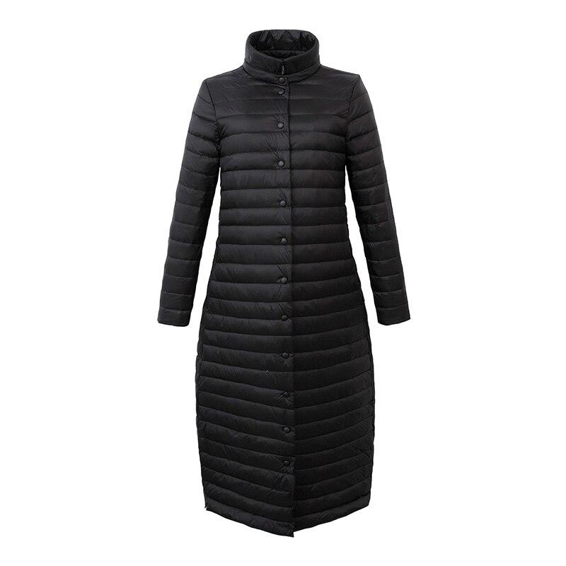 2017 Winter Jacket Women Coat Female Fashion Warm Outwear thin white duck Down Cotton Padded
