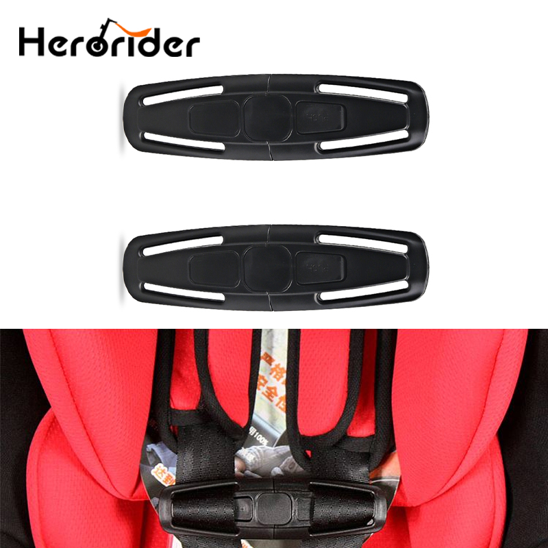 2 pcs Universal Car Baby Child Safety Seat Buckle Strap Belt Harness Chest Clip Latch Nylon For Baby Children Toddler Kids Care