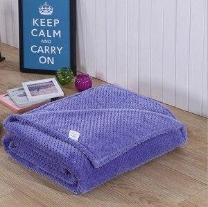 Image 5 - CAMMITEVER, 5 tamaños 100%, suave manta de cama Premium, cómodas mantas, cama cálida, sofá, camas cómodas