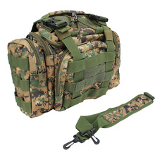 Multifunctional Fishing Bag Lure Bag Fishing Tackle Bag Backpack Waist Pack Outdoor Bag 30*18*20cm with Shoulder Strap