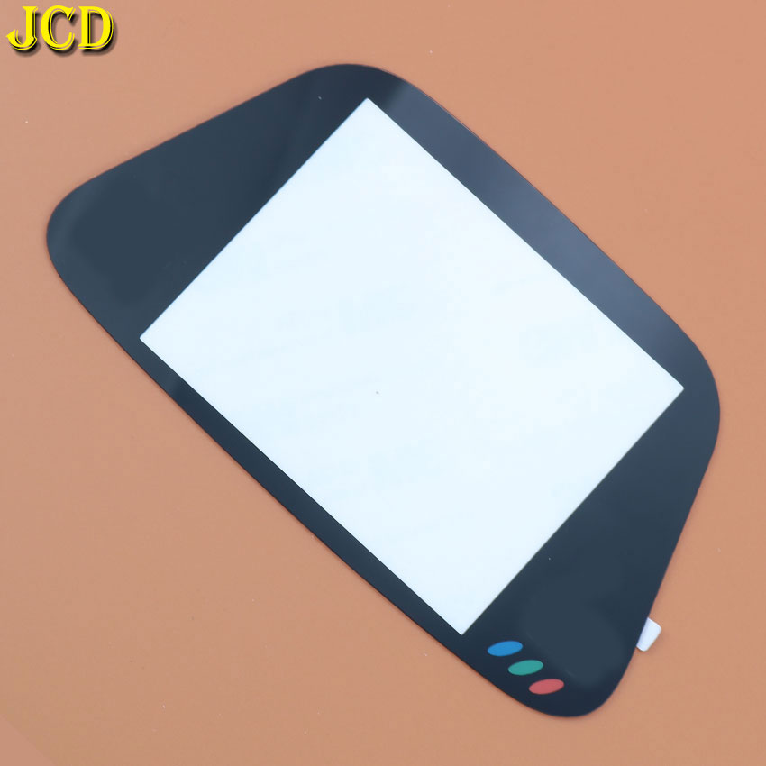 Image 3 - JCD 1PCS Black Glass Screen Lens Protective Cover For Sega Game Gear Replacement Screen Protector GG Lens-in Replacement Parts & Accessories from Consumer Electronics