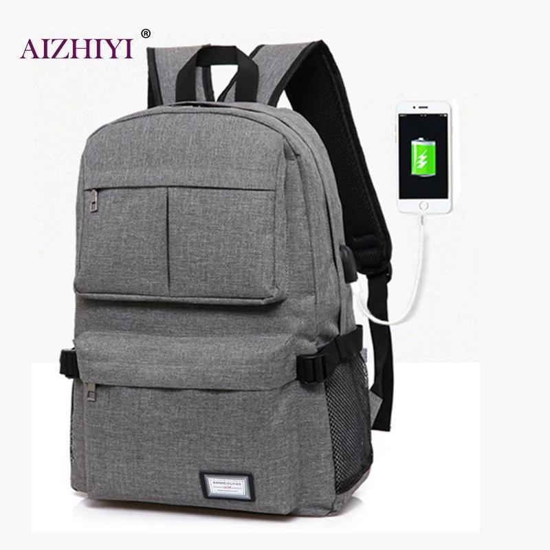 Men Backpacks Male Multifunction USB Charging Backpacks 15inch Student School Backpack Bags for Teenagers Laptop Backpacks