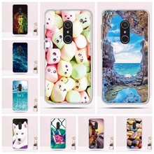 Case For Alcatel 1X 2018 5059D 5059X Cover Soft TPU Back Phone Cover For Alcatel 1 X 5059d 5059x Cover Printing Silicone Fundas()