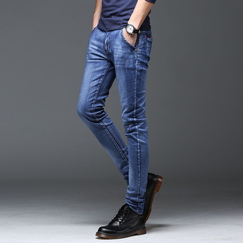 Batmo 2019 new arrival high quality casual slim jeans men ,men's pencil pants ,skinny jeans men Z004