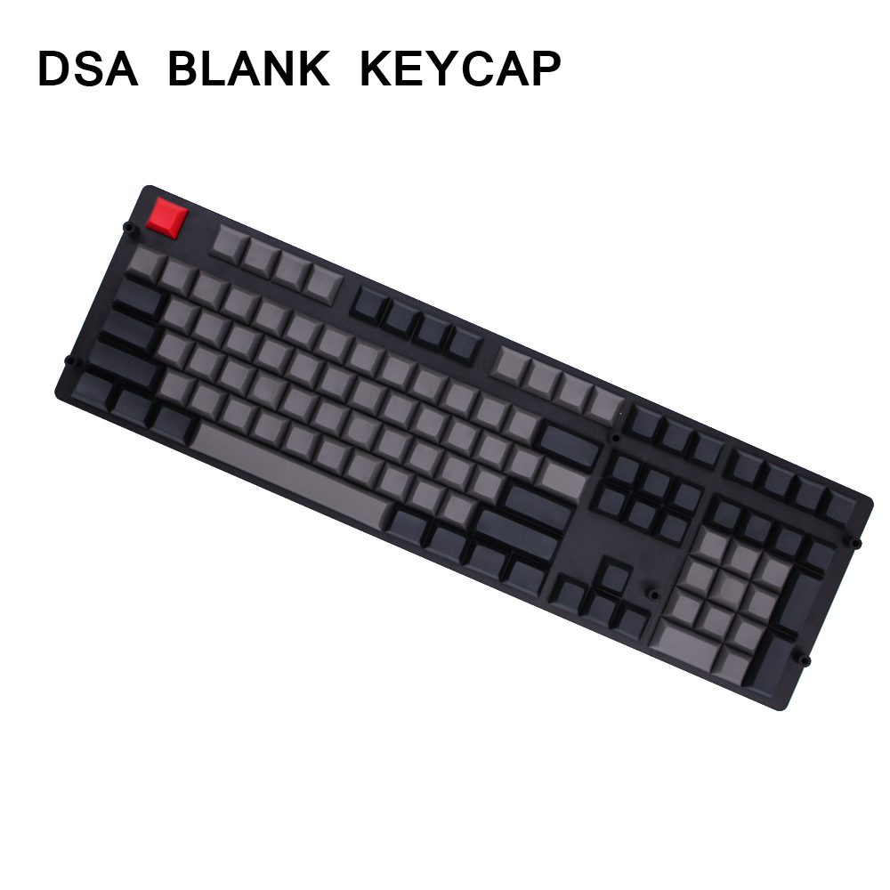 MP DSA 145 keys PBT Blank Keycap Dolch Color Cherry MX switch keycaps for Wired USB
