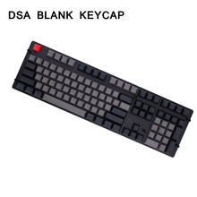 MP DSA 145 клавиш PBT пустая клавиша Dolch color Cherry MX switch keycaps для проводной USB Механическая игровая клавиатура