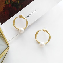 Simple geometric earrings individuality creative students wholesale contracted fashion street snap