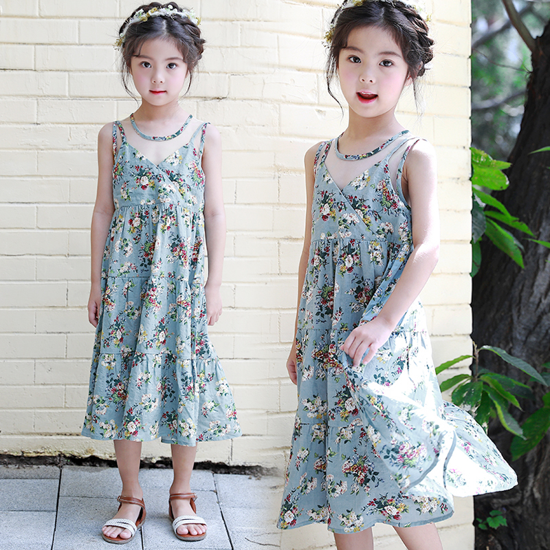 Baby Girls Summer Dress Vestidos 2018 Brand Children Princess Costume for Kids Clothes Toddler Dresses Girls Bohemian Clothing