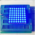 Free Ship 100PCS Common cathode/Common anode F3 3MM 8*8 Dot matrix module Blue led tube display