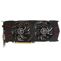 Красочная видеокарта IGame GTX 1060 Vulcan U 6 г GeForce GTX 1060 GTX1060 графика 92bit GDDR5 PCI-E X16 3,0 2 вентилятора DVI + HDMI + DP