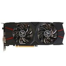 Colorful IGame GTX 1060 Vulcan U 6G Video Card GeForce GTX 1060 GTX1060 Graphics 92bit GDDR5 PCI-E X16 3.0 2 Fans DVI+ HDMI + DP
