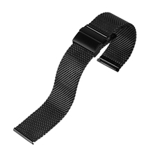 18mm 20mm 22mm Men Women Watch Band Starp Stainless Steel Watchband Hook Buckle Bracelet for Wristwatch Replace High Quality fashion 20 22mm black mesh stainless steel watch band hook buckle strap simple women men watches replacement bracelet gd0143