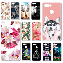 TAOYUNXI Cases For ZTE Nubia Z17S Case 5.73 inch Soft Silicone Back Covers Painted Bags Skins Shell Housings