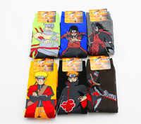 Hallowmas Requisiten Anime Männlichen socken Marke Personalisierte Baumwolle Cartoon Uzumaki Naruto frauen Dame Mädchen Männer Socken Socke Freie Größe