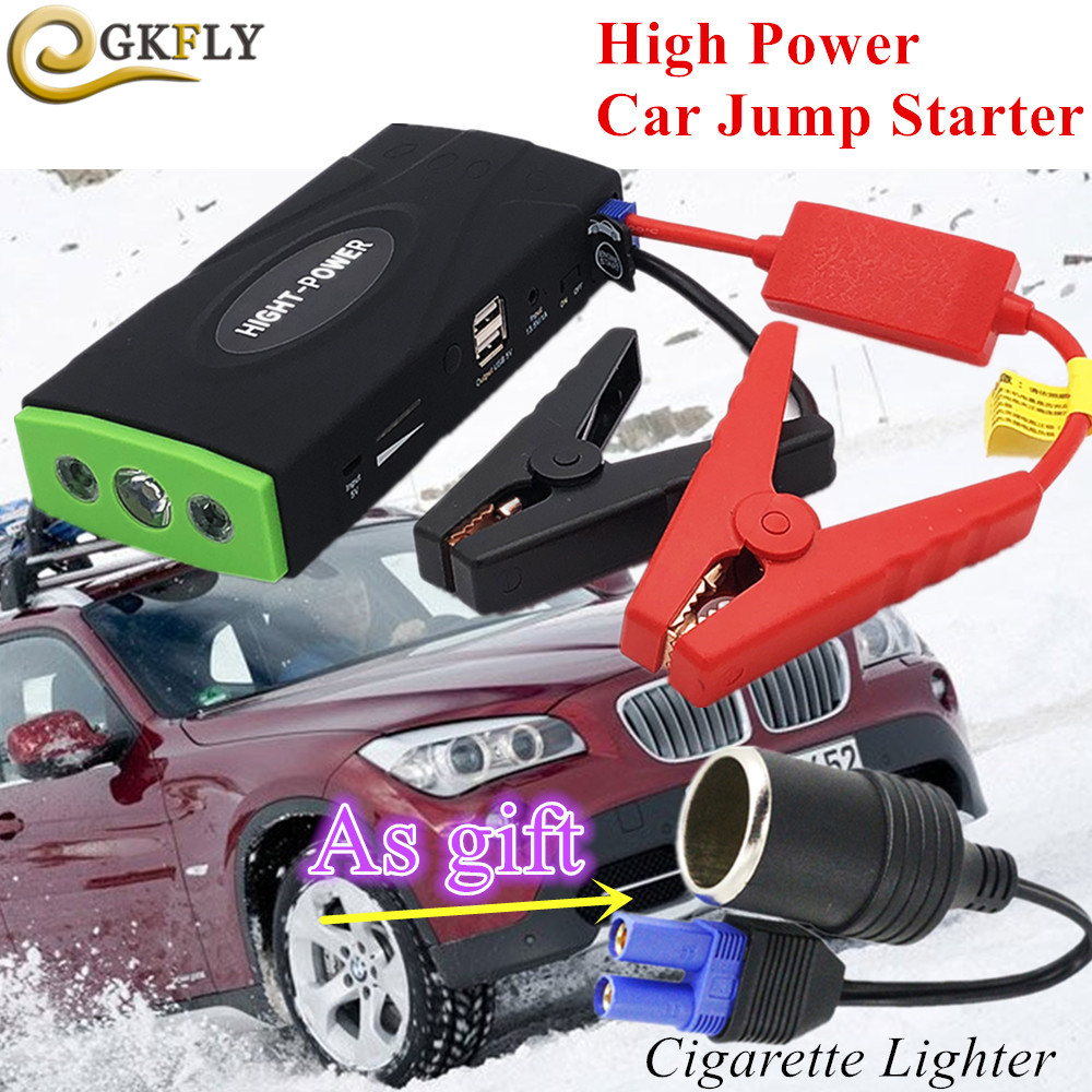 Emergency Car Jump Starter 600A Portable Starting Device Power Bank 12V Petrol Diesel Car Charger For Car Battery Booster Buster