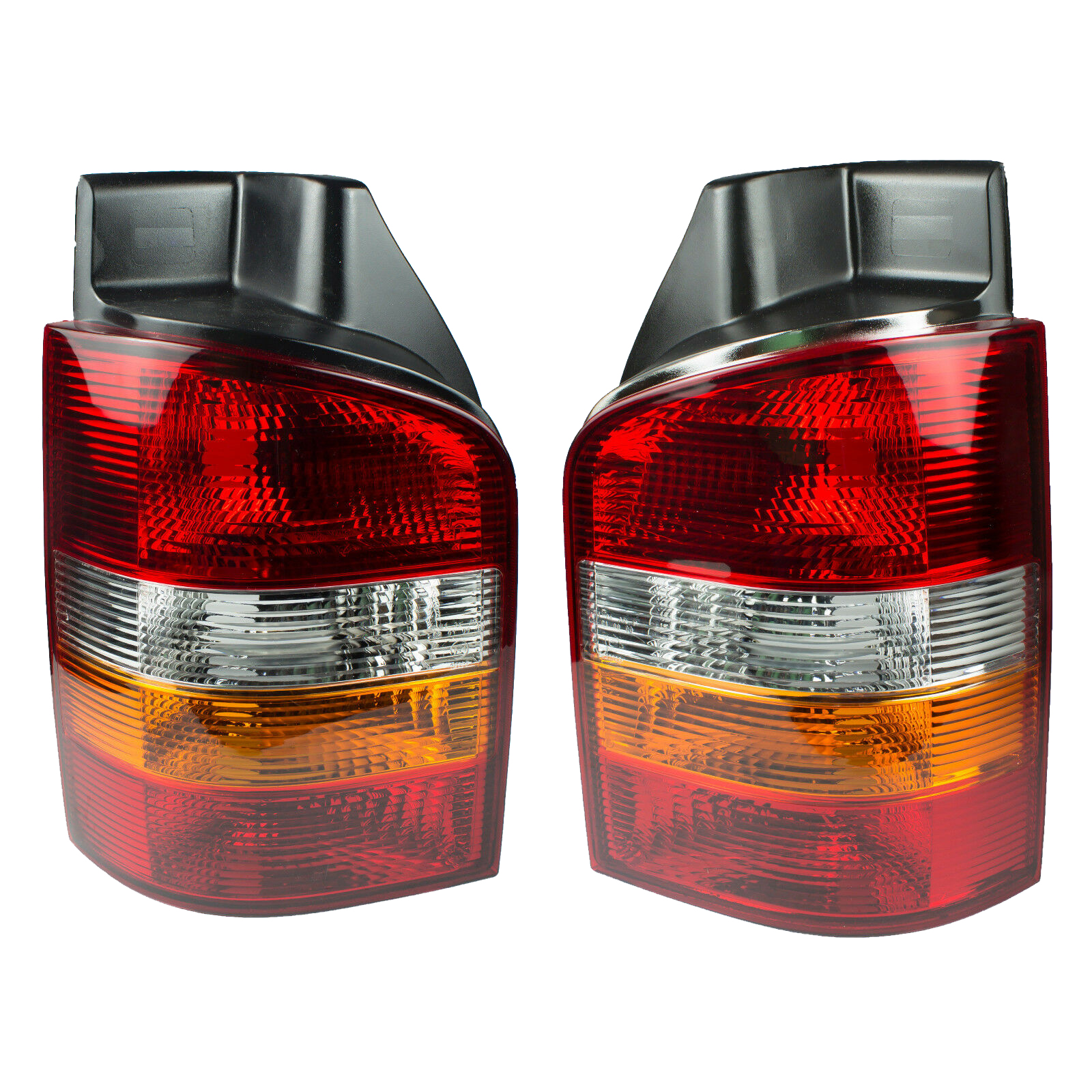 1 Pair Taillight For Volkswagen <font><b>VW</b></font> Transporter <font><b>VW</b></font> <font><b>T5</b></font> Eurovan Caravelle Tail Lights Rear Brake Signal Fog Light Lamp 2003-2009 image