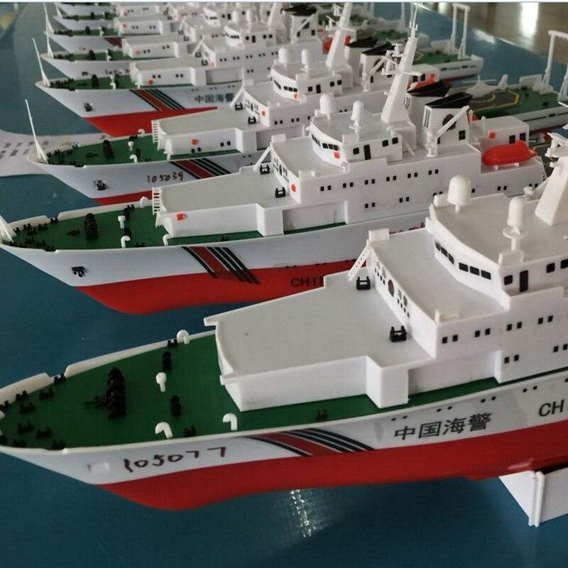 Freies verschiffen China Küstenwache Schiff 2,4G Elektrische Fernbedienung Schiffsmodell Navy Schlacht Schiff Dual Propeller DIY boot spielzeug geschenk - 5
