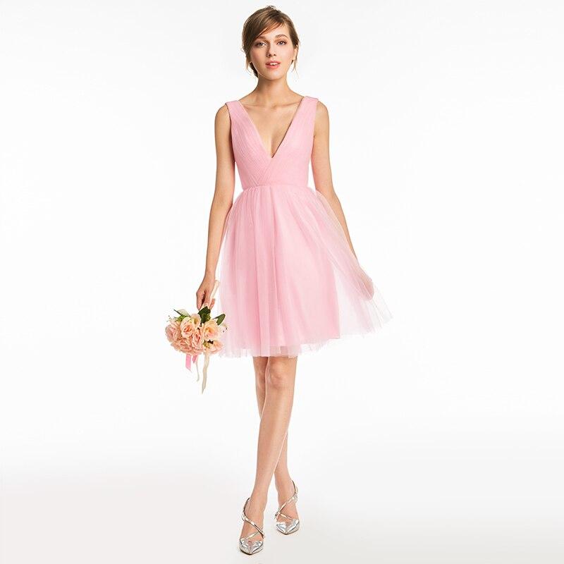 Moderno Color Pizarra Vestidos De Dama Friso - Ideas para el ...
