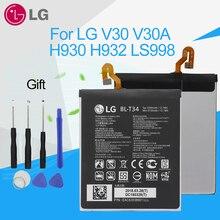 цена на LG Replacement Phone Battery BL-T34 for LG V30 V30A H930 H932 LS998 3300mAh Original Genuine Li-ion Polymer Batteries Tools Kit