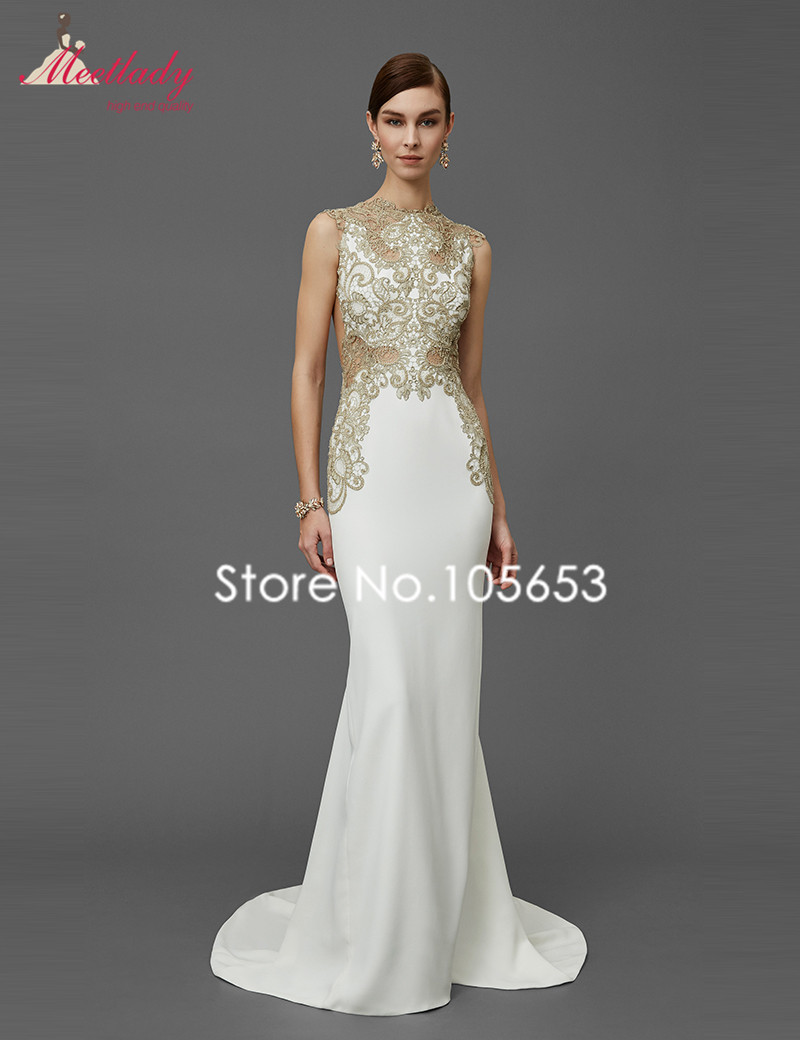 Online Buy Wholesale ivory evening dresses from China ivory ...