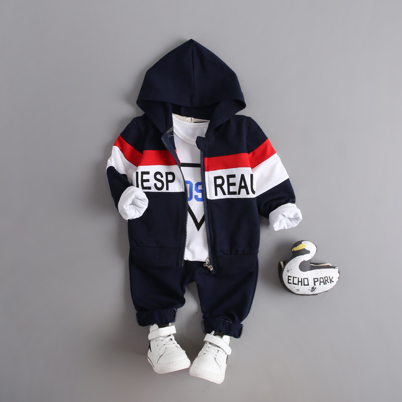 Spring Autumn Kids Clothes Fashion Children Boys Girl Cloth Suits Baby Hoodies Jacket T-shirt Pants 3Pcs Sets Toddler Tracksuits free shipping 2016 new fashion marv comic classic spiderman child boys spring or autumn cloth sets kids sprots suit tracksuits