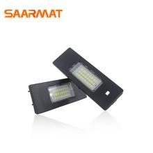 Светодио дный CANBUS Подсветка регистрационного номера лампы для BMW 1 6 серии E81, E87, E87N, E85 (Z4), E86 E63, E63N, E64 (M6), E64N номер лампа белый @ 12 V