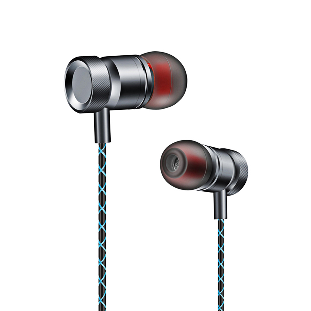 Subwoofer In-ear Earphone Metal 3.5mm Super Bass Headset Hifi Stereo Music Earbuds With Mic Earphones For Mobile Phone 95% new good working for air conditioning accessories board motherboard 3901 30000303 gr39 2 on slae