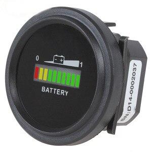 12 V/24 V/36 V/48 V/72 V carga de la batería LED indicador Digital Monitor medidor