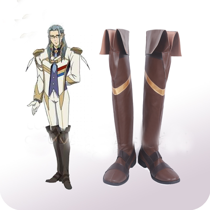 Macross Delta Keith Aero Windermere Cosplay Shoes Boots ...