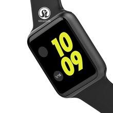 Relógio inteligente Sincronização do Relógio Notificador Conectividade Apple iphone Telefone Android Smartwatch