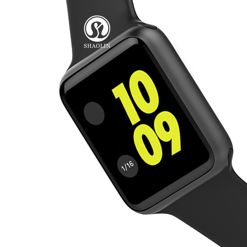 Smart Watch Series 4 Clock Sync Notifier Connectivity Apple iphone Android Phone Smartwatch with Heart Rate Monitor Facebook цены