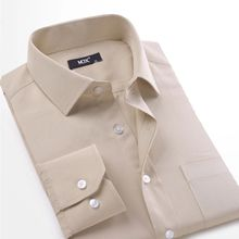 Mens Dress Shirts Solid Fashion Twill Long Sleeve Male Formal Shirt High Quality Casual Camisas Social Masculinas