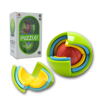 New 3D Magic Intellect Puzzle Maze Ball Brain Teaser Game Educations For Kids IQ Training Logical