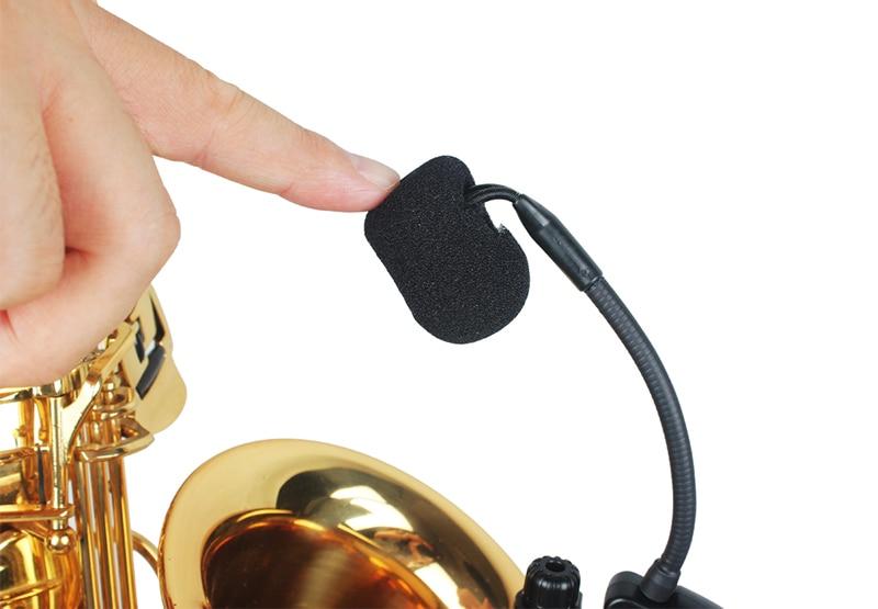 ACEMIC PR-8/ST-1 Professional  Wireless Saxophone Microphone True Diversity 80M Trumpet Saxo Mic Wireless Saxophone System