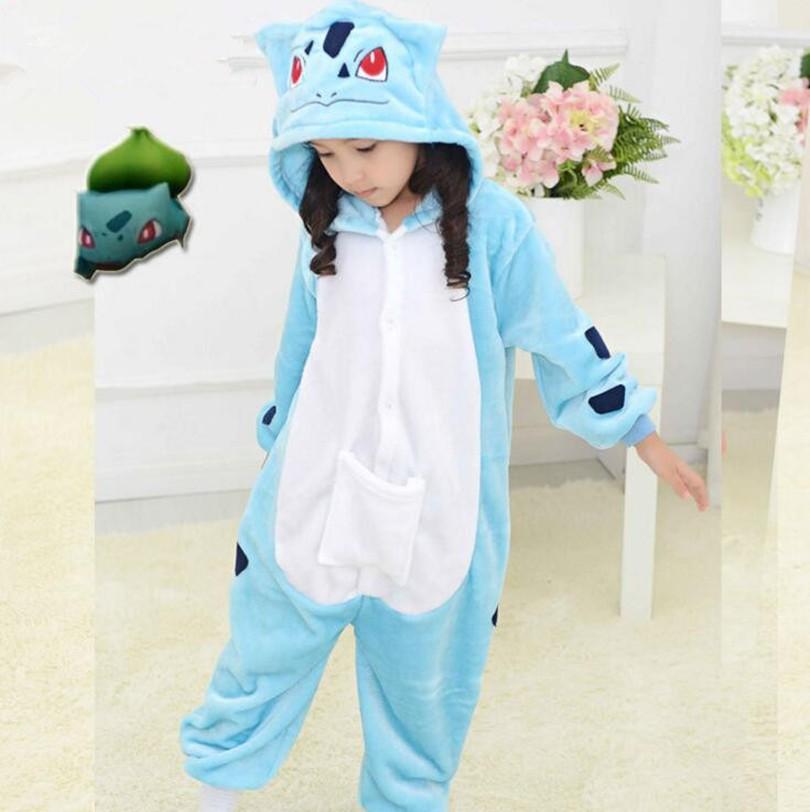 Niños Kigu Onesie Trajes Niños de Halloween Carnaval Cosplay Pokemon ... 081f92dfe88c