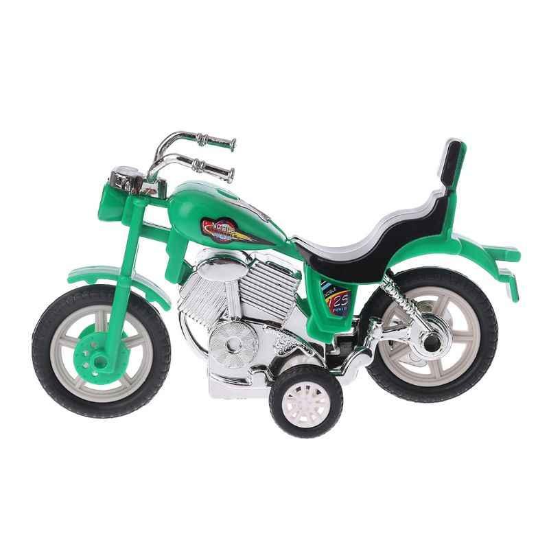1PC Pull Back Motorcycle Inertial Motorbike Motor Bike Model Children Kids Educational Toys