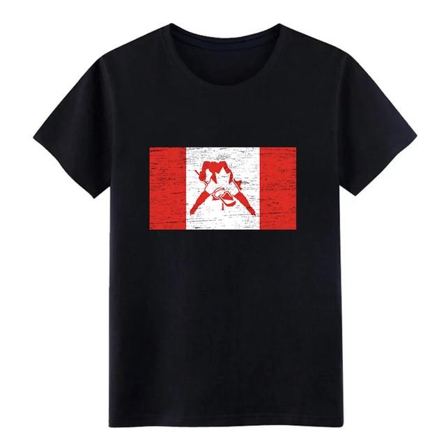 5b4fe104 Men's Canada Hockey Gift Christmas Birthday Kids t shirt Customize tee shirt  S-3xl Family Crazy Casual Novelty shirt