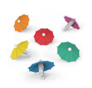 Sign Mark Cup Charms Party-Umbrella Identifier-Cup Drinking-Buddy Wine Glass Silicone