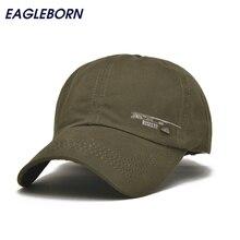 EAGLEBORN 2017 Unisex Primavera Casual Berretto Da Baseball Cappelli di  Moda Snapback casquette Regolabile bone Cotone Cappello . d029d229728c