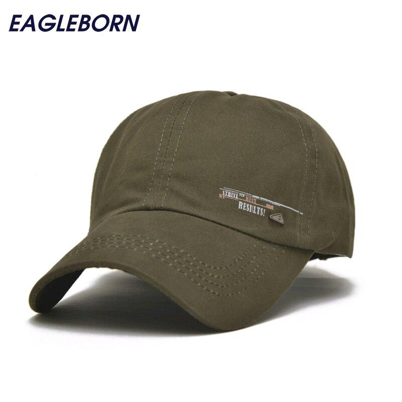 Prix pour EAGLEBORN 2017 Unisexe Printemps Casual Casquette de baseball De Mode Snapback Réglable casquette os Coton Chapeau pour Hommes Femmes