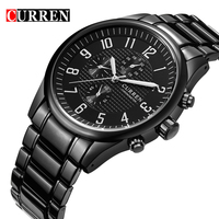 Curren Luxury Brand Quartz Watch Casual Fashion Leather Watches Reloj Masculino Men Watch Free Shipping Sports