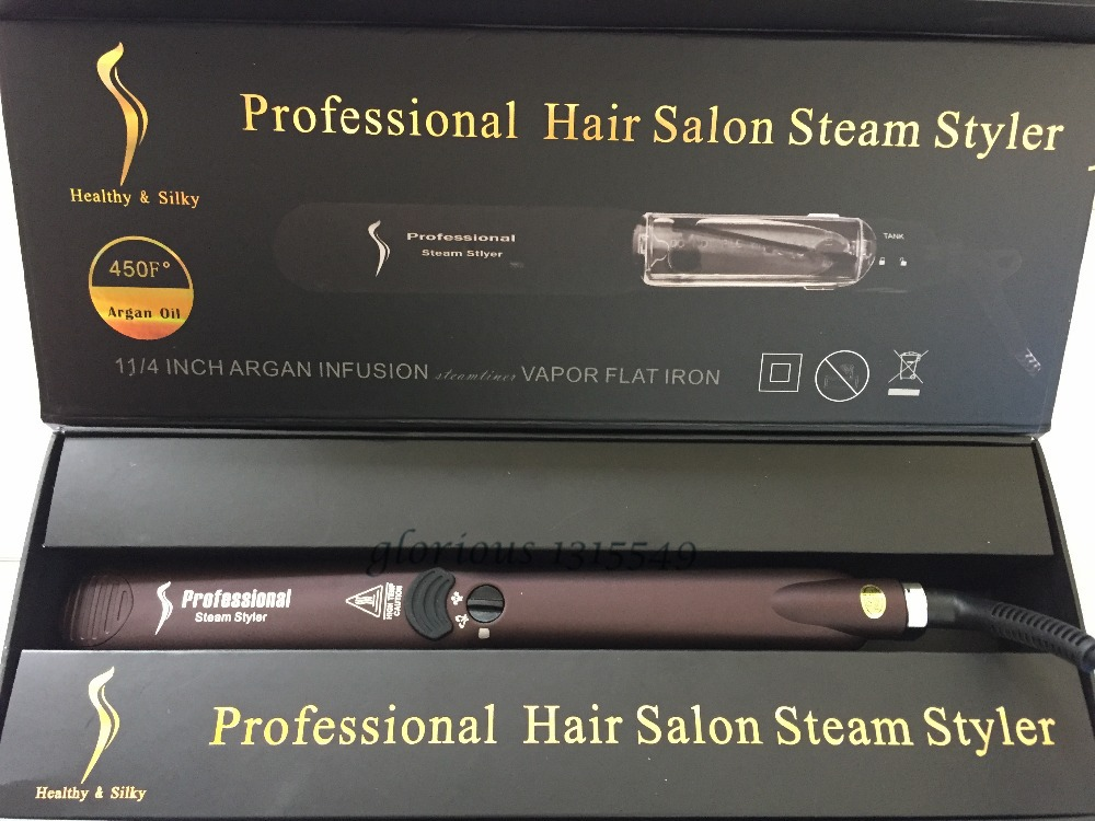 Professional Hair Salon Steam Styler Wet Dry Hair