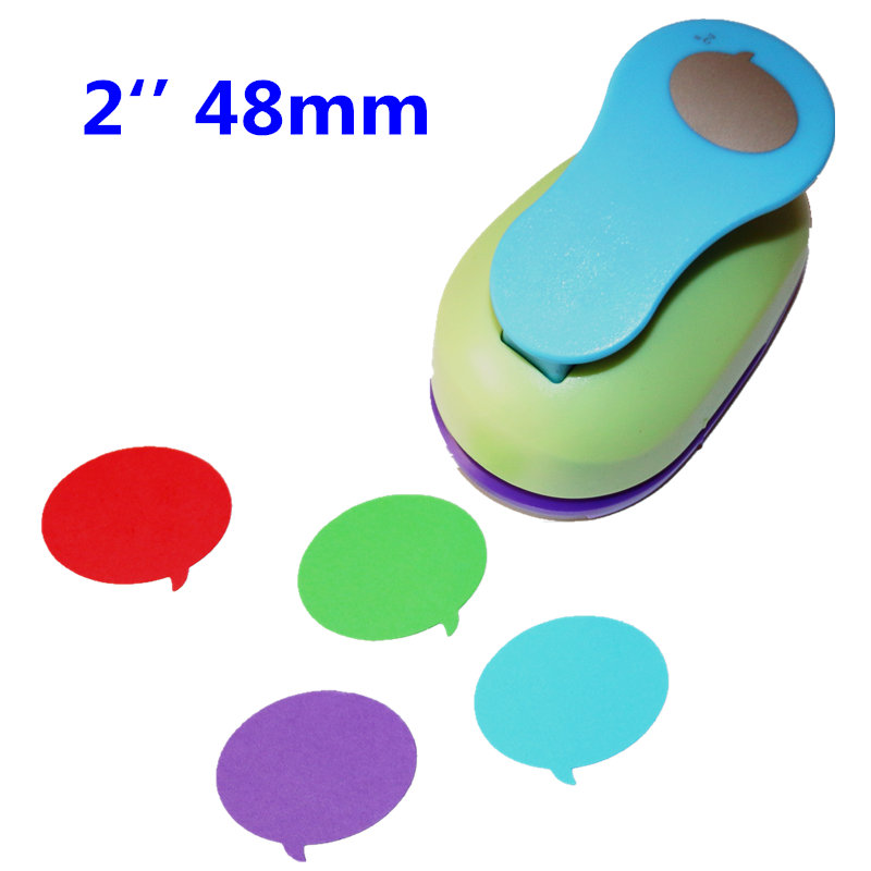 2 Inch 46cm Dialog Box Design Craft Punch Paper Hole