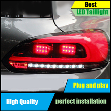 Car Styling Case For Volkswagen VW Scirocco 2009-2014 Taillights LED Dynamic Turn Signal Tail Light Assembly Rear Lamp