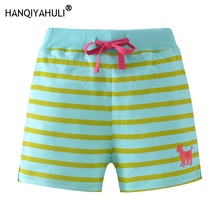 HANQIYAHULI Girls Shorts kids Childrens Children Cotton Sports Beach Baby Girl Skirts