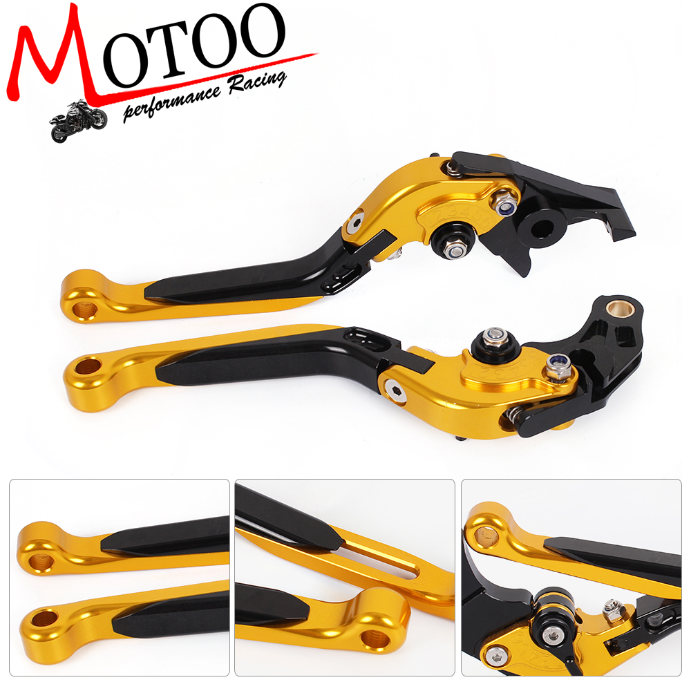 Motoo - f-14/sv-6  Motorcycle Brake Clutch Levers For SUZUKI GS500	89-08  GS500E 94-98 GS500F 04-09 GSF600 BANDIT 95-99