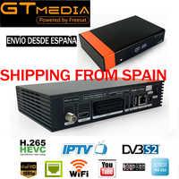 GTmedia V8 Nova DVB-S2 HD récepteur Satellite prise en charge H.265 Ccam nouvelle puissance vu biss construit WiFi vs freesat v8 super gt media v8